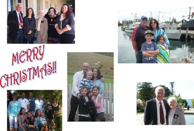 """2012 Family Calendar """"December"""" - Family"""