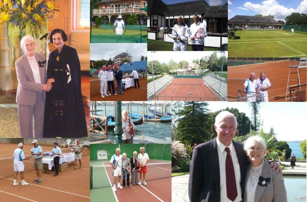 "2012 Family Calendar ""July"" - John Europe Tennis and GR Medal of St John"