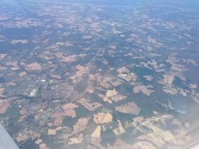 Some of the farming country through Pennsylvania