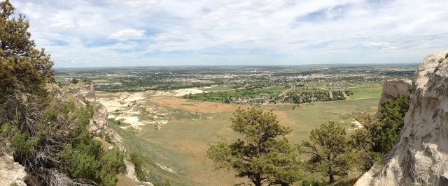 Another Panorama, this time on top of the Bluff