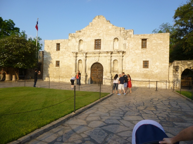 """The Alamo"" A very important site in Texan history."