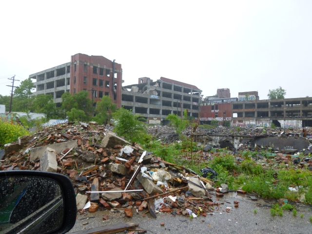 The old Packard car plant