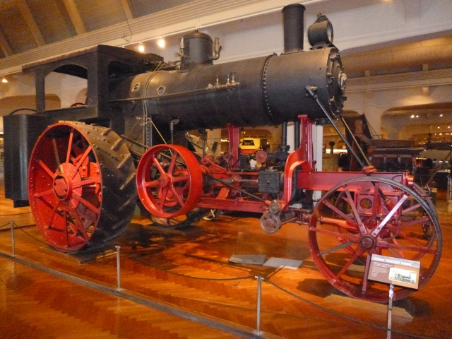 The old Steam Engine Tractor