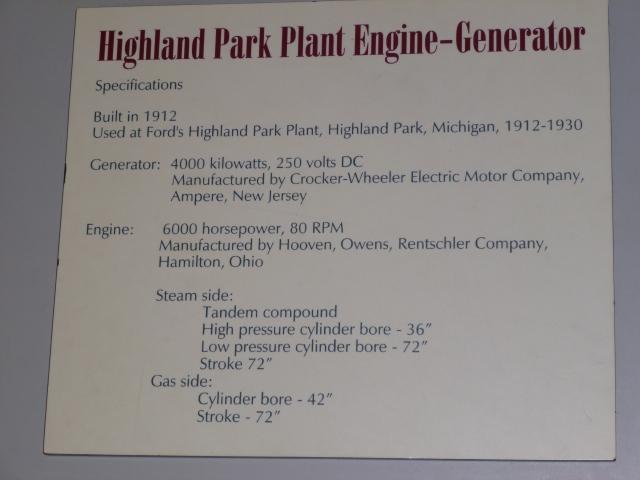 Engine Specs