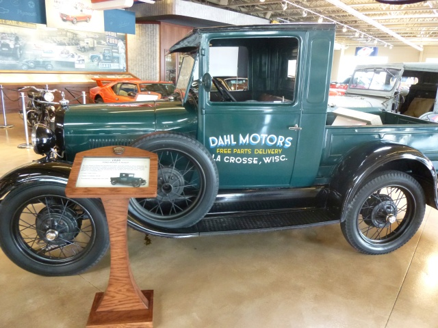 The Model A truck