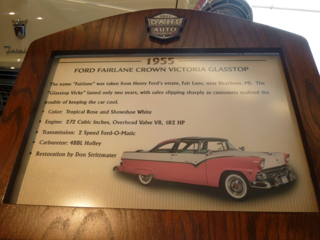 The 1955 Wedding Car
