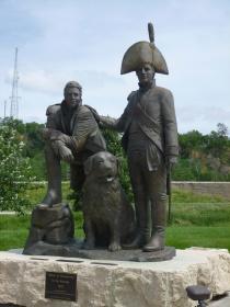 The explorers Lewis & Clarke