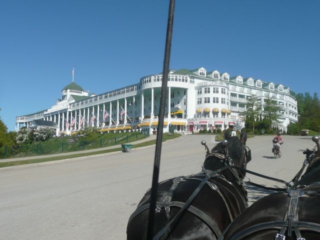 The Grand Hotel, built 1887 & has 385 rooms