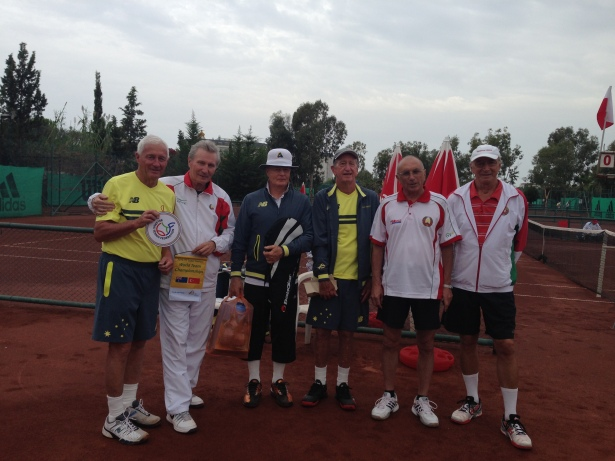Part of the Australian & Belarus Teams