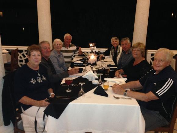 The final team dinner