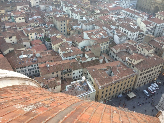 Those tiled roofs