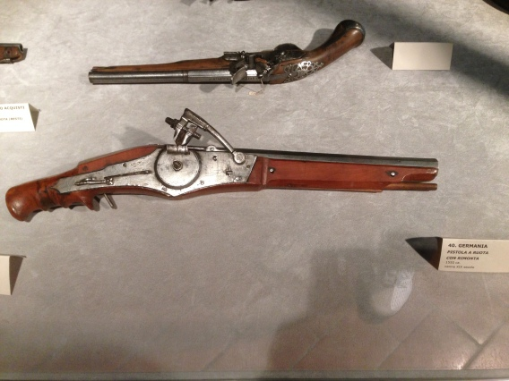 This gun dates back to 1620