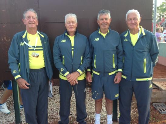 The Australian 65+ Team