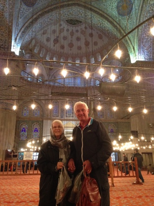 At the Blue Mosque,Istanbull