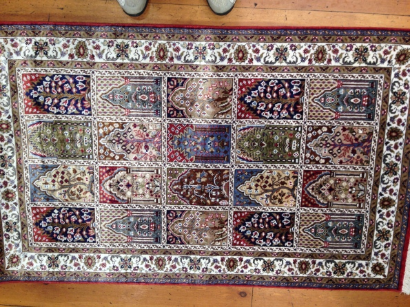 One of many carpets in stock