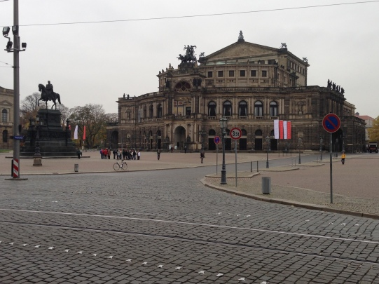 The Opera House from the outside.