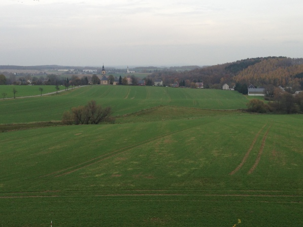 Typical German Countryside