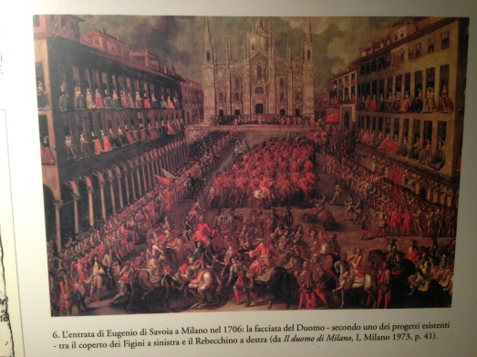 This is what it looked like around 1706