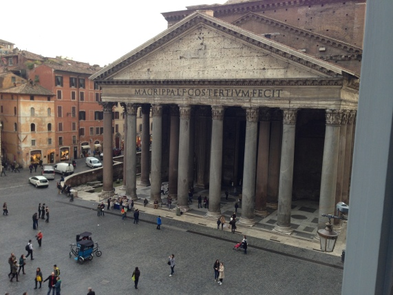 The Pantheon built 100AD