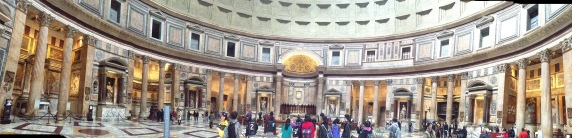 Several of the Altars in the Patheon
