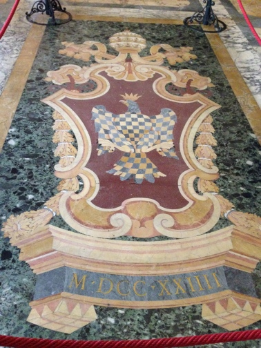 Another inlaid marble floor