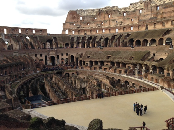 The Colloseum as it stands today