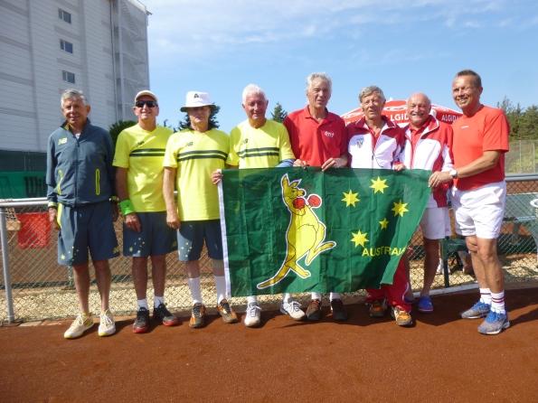 Australian & Austrian Teams