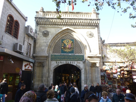 Entrance to the Grand Bazaar built 1481