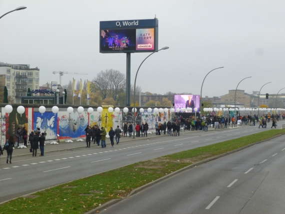 300mts of the wall has been left in place to remind people what things were like