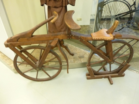 All wooden Bicycle early 1800's