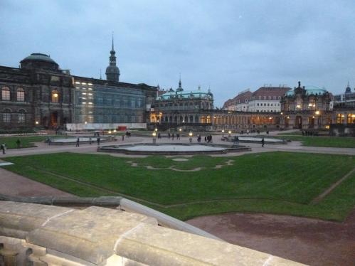 The Palace close to dusk