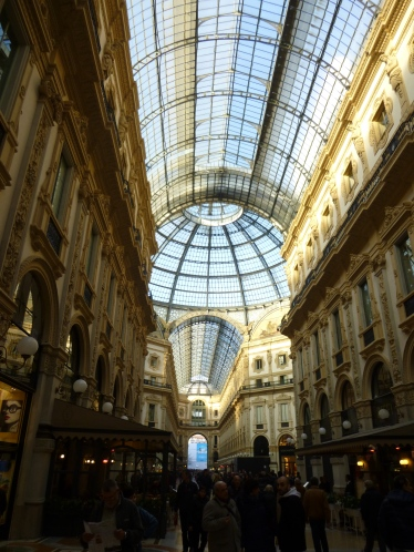 The major shopping arcade