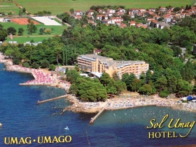 Sol Umag our hotel for the Championships