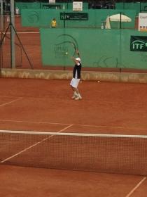 Peter Adrigan in action