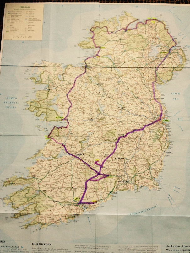 Our road trip around Ireland